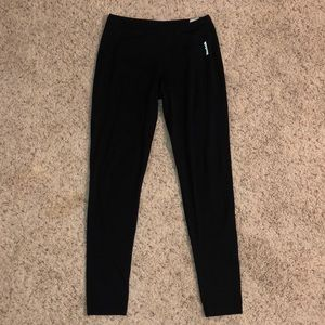 Black Reebok women's leggings